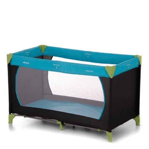 Hauck 604489 Reisebett Dream n Play, 60×120 cm, water blue