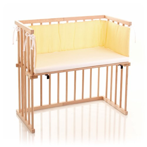 dreamgood beistellbett buche inkl matratze prime 6. Black Bedroom Furniture Sets. Home Design Ideas
