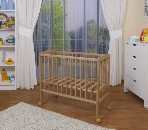 waldin baby beistellbett mit matratze und nestchen 8 modelle w hlbar natur unbehandelt wei. Black Bedroom Furniture Sets. Home Design Ideas