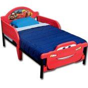 Kinderbett kaufen - Babybett - Jugendbett - 3D mit Motivauswahl (Cars) - 2