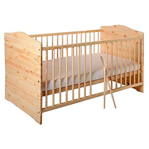 Kinderbett Jugendbett Kuba VOLLMASSIV 140×70 cm