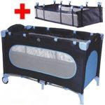 Reisebett + Einhang Kinderbett Kinderreisebett Babyreisebett Kind Baby Bett - 1