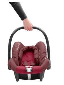 maxi cosi citi sps babyschale bis 13 kg carmine. Black Bedroom Furniture Sets. Home Design Ideas