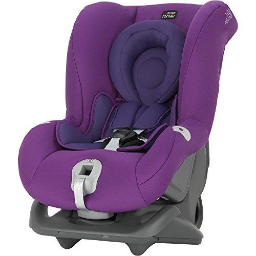 Britax Römer Autositz First Class plus, Gruppe 0+/1 (Geburt – 18 kg),Kollektion 2016, Mineral Purple