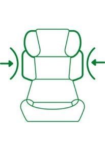 Cybex Silver Solution X-fix Kinderautositz Gruppe 2/3 (ab ca. 3 bis 12 Jahre, 15-36kg) pure black - 4