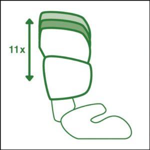 Cybex Silver Solution X-fix Kinderautositz Gruppe 2/3 (ab ca. 3 bis 12 Jahre, 15-36kg) pure black - 6
