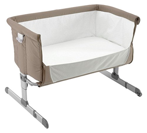 Chicco Beistellbett Next2Me, dove grey